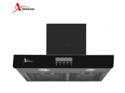 هود آشپزخانه اخوان  شومینه ای شیشه دودی و استیل مدل H36 | فروشگاه مرکزی اخوانH56