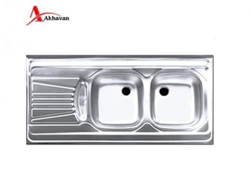 سینک ظرفشویی اخوان روکار  مدل 320S | سایت رسمی اخوان جم40