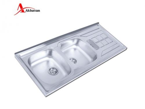 سینک ظرفشویی اخوان روکار فانتزی مدل 74 | سایت رسمی فروشگاه مرکزی اخوان جم152SP