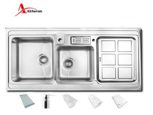 سینک ظرفشویی اخوان روکار  مدل 320S | سایت رسمی اخوان جم362