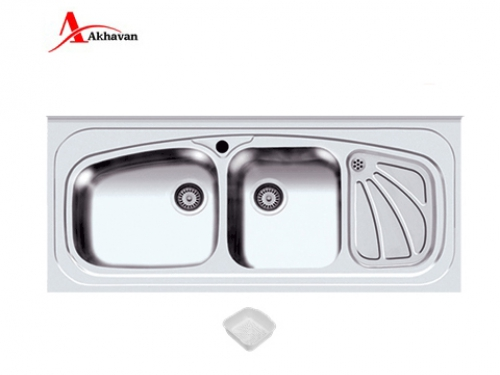سینک ظرفشویی اخوان روکار  مدل 320S | سایت رسمی اخوان جم60