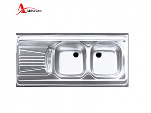 سینک ظرفشویی اخوان توکار باکسی مدل 302 | فروشگاه مرکزی اخوان40S
