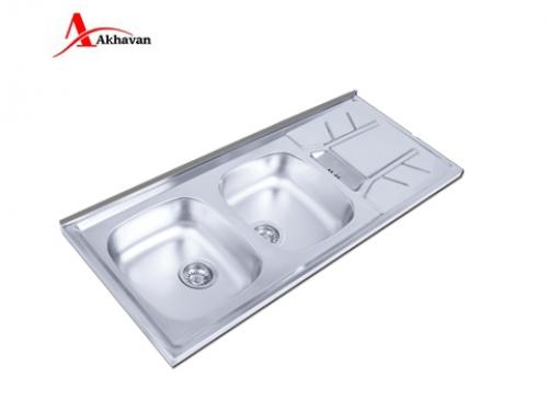 سینک ظرفشویی اخوان روکار فانتزی مدل 74 | سایت رسمی فروشگاه مرکزی اخوان جم155SP