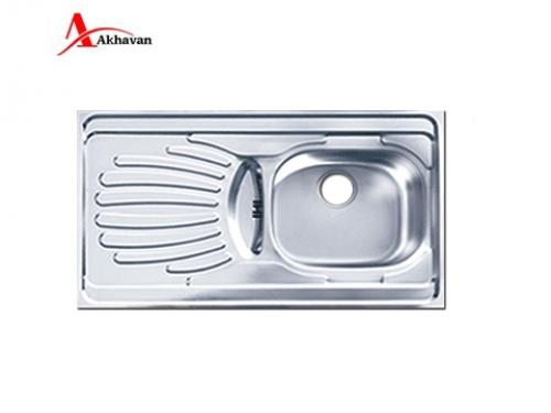 سینک ظرفشویی اخوان زیر کروینی باکسی مدل 405 | فروشگاه مرکزی اخوان38