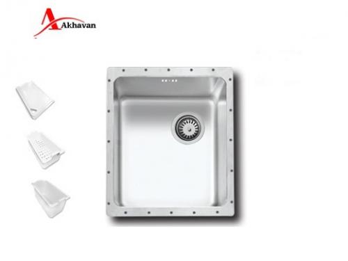 سینک ظرفشویی اخوان زیر کروینی باکسی مدل 405 | فروشگاه مرکزی اخوان403