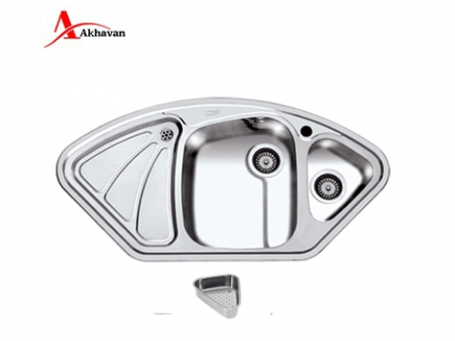سینک ظرفشویی اخوان روکار فانتزی مدل 146 | سایت رسمی فروشگاه مرکزی اخوان جم47