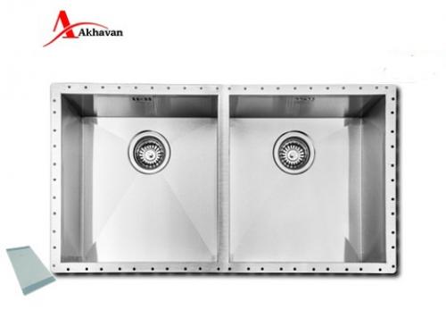 سینک ظرفشویی اخوان زیر کروینی باکسی مدل 405 | فروشگاه مرکزی اخوان410