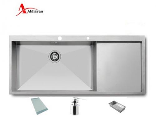 سینک ظرفشویی اخوان توکار باکسی مدل 302 | فروشگاه مرکزی اخوان330