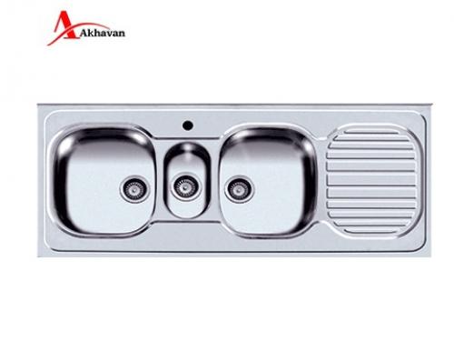 سینک ظرفشویی اخوان توکار باکسی مدل 360  | سایت رسمی فروشگاه مرکزی اخوان جم33