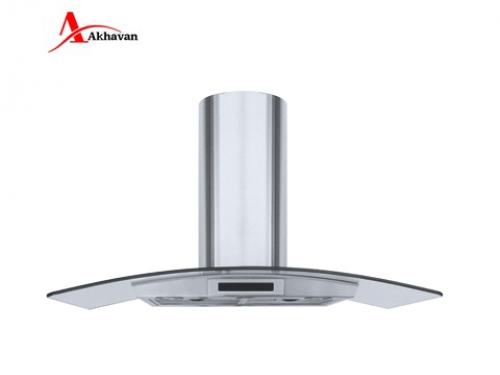هود آشپزخانه اخوان  شومینه ای شیشه دودی و استیل مدل H36 | فروشگاه مرکزی اخوانH20