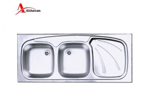 سینک ظرفشویی اخوان توکار باکسی مدل 302 | فروشگاه مرکزی اخوان127